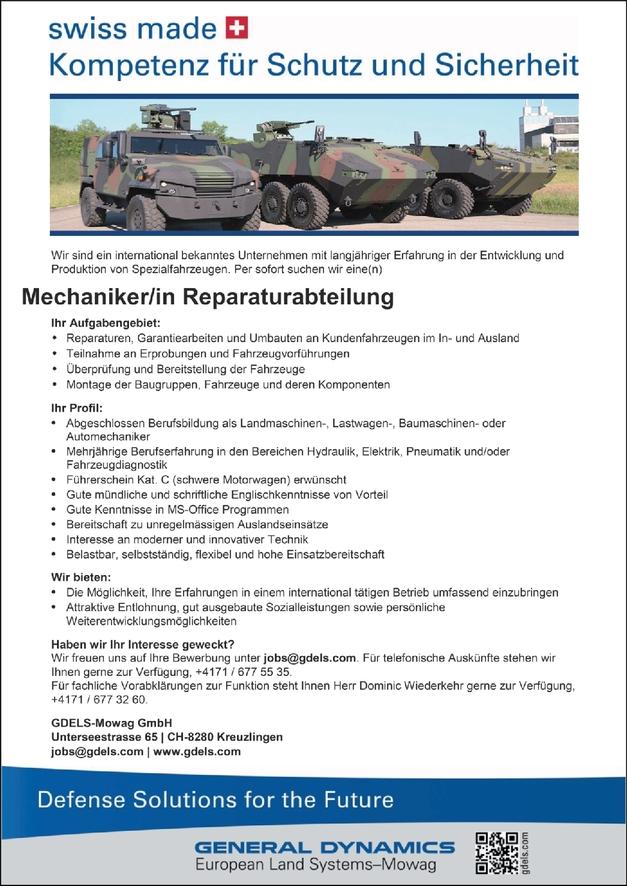 Mechaniker/in