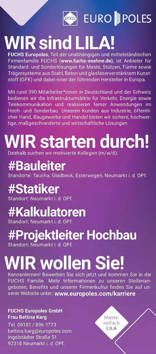 Bauleiter (m/w/d)