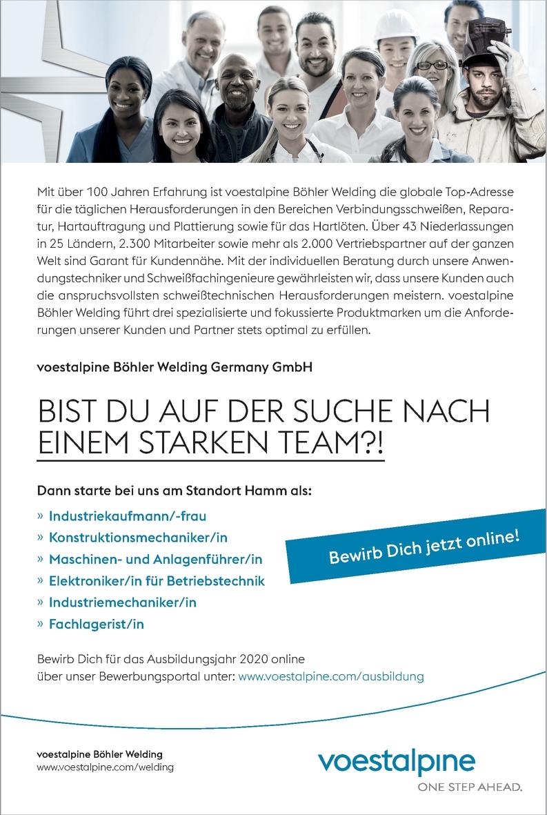 Ausbildung Industriemechaniker/in
