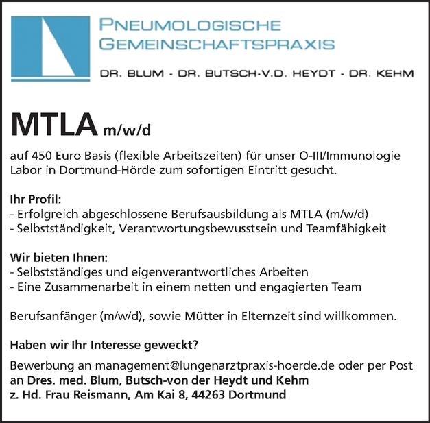 MTLA m/w/d