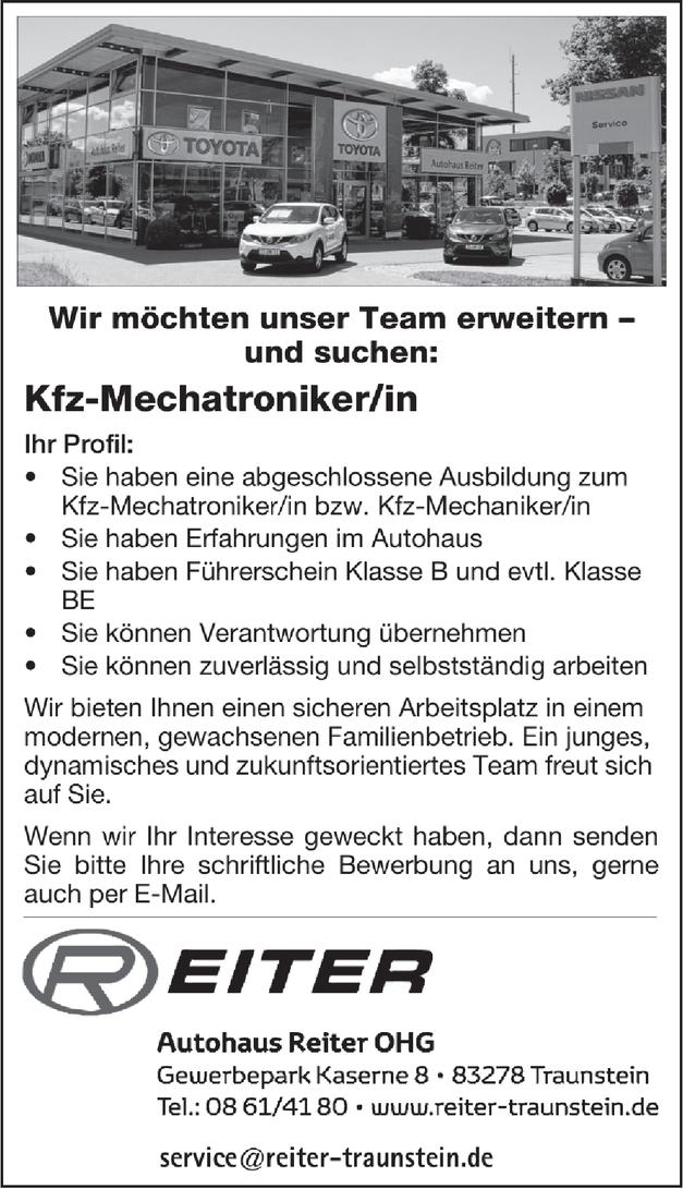 Kfz-Mechatroniker/in (m/w/d)