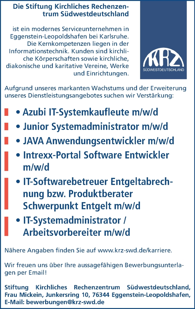 Azubi IT Systemkaufmann