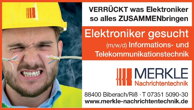 Elektroniker/in