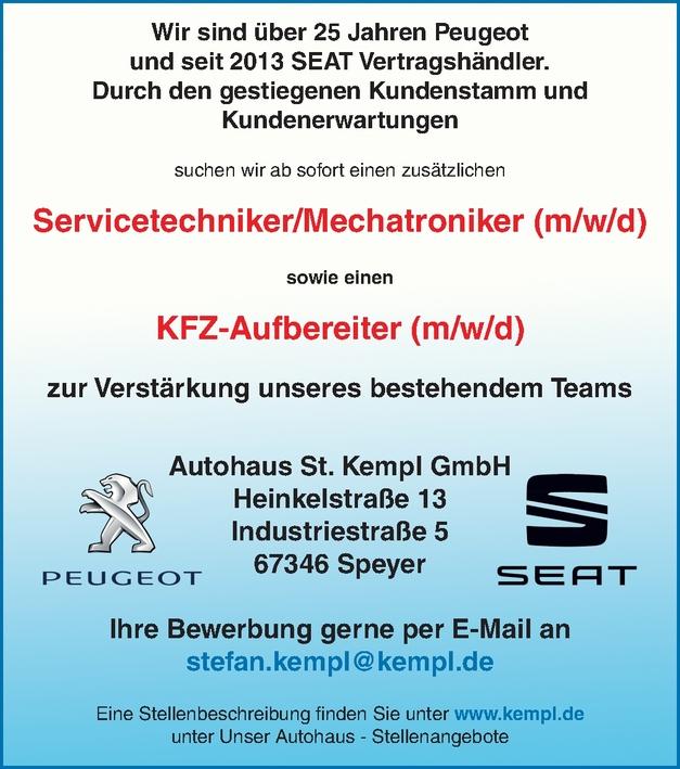 Servicetechniker/Mechatroniker (m/w/d)