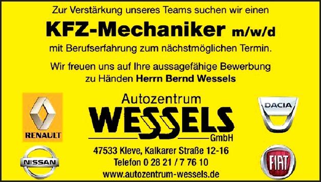 KFZ-Mechaniker (m/w/d)