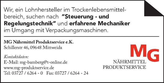 Steuerungs-und Regelungstechniker m/w/d