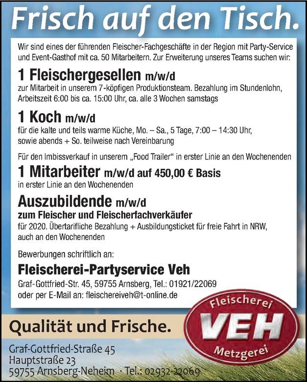 Fleischer/in