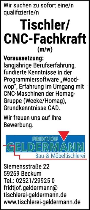 CNC-Fachkraft m/w