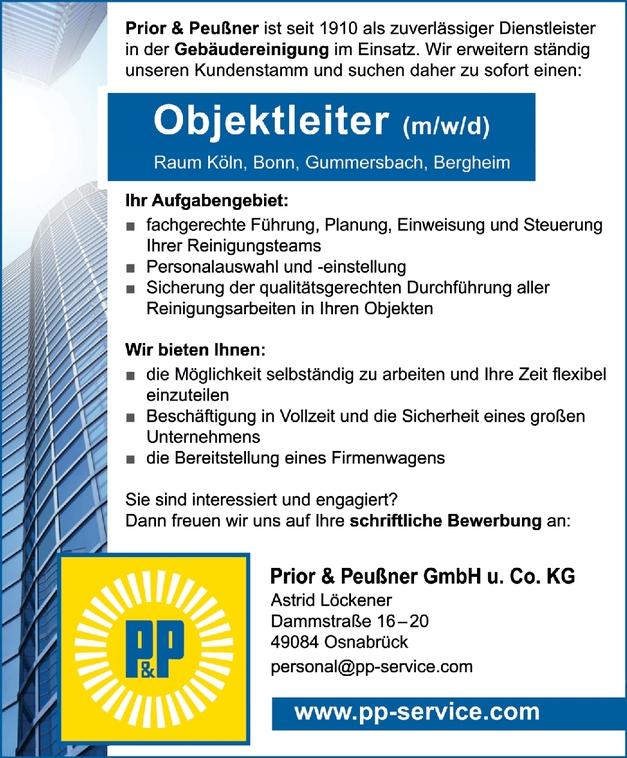 Objektleiter (m/w/d)