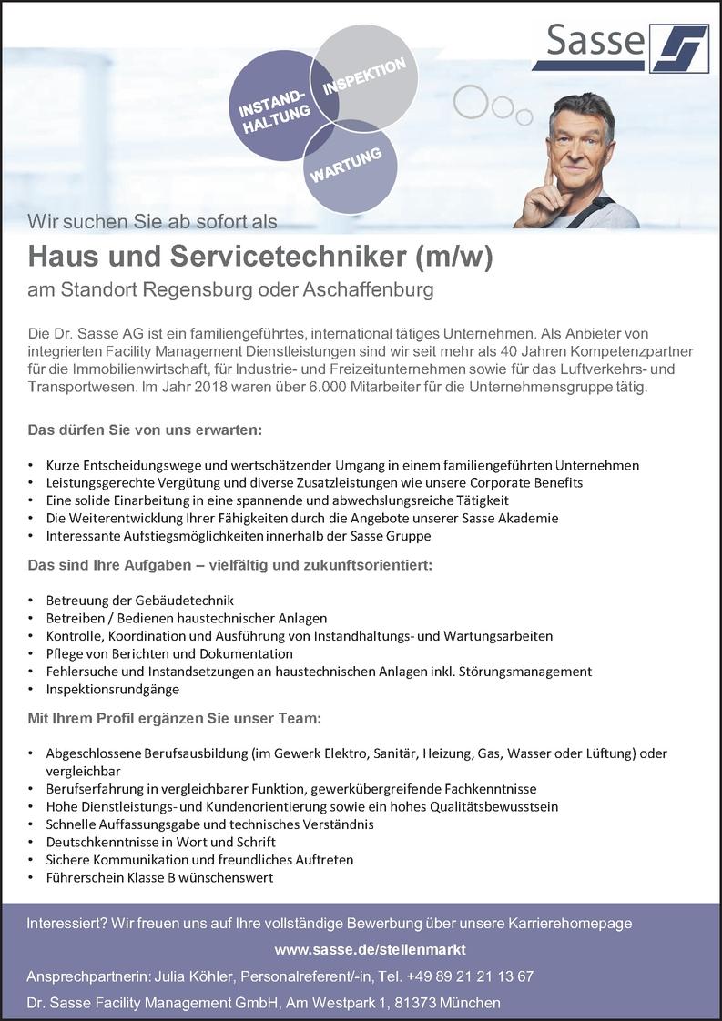 Haus-und Servicetechniker