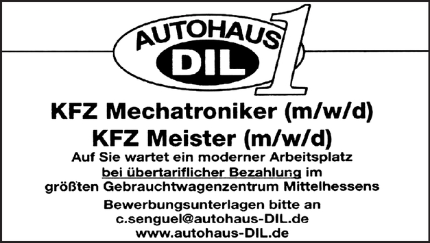 Kfz-Mechatroniker/in