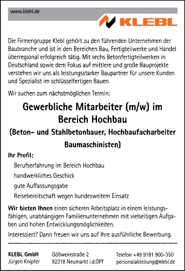 Stahlbetonbauer/-in