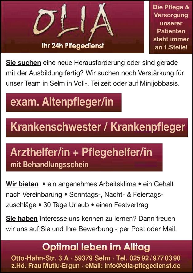 exam. Altenpfleger/in
