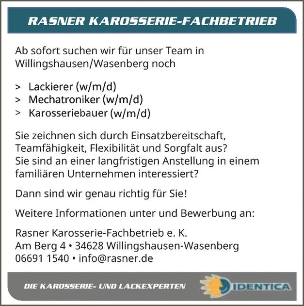 Karosseriebauer (m/w/d)