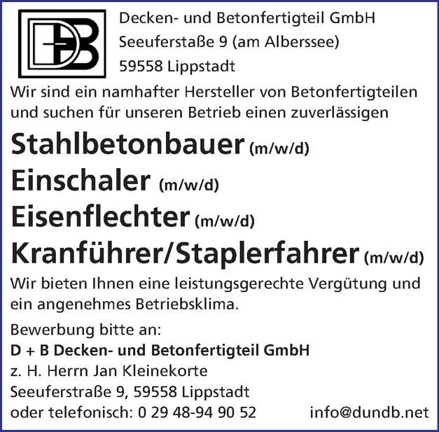 Eisenflechter/in