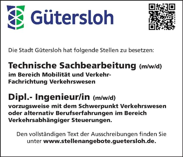 Technische/r Sachbearbeiter/in