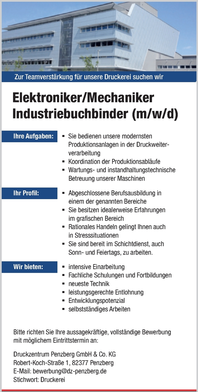 Industriebuchbinder (m/w/d)