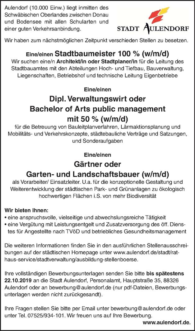 Dipl.-Verwaltungswirt/in (FH)