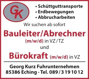 Bauleiter/Abrechner (m/w/d)