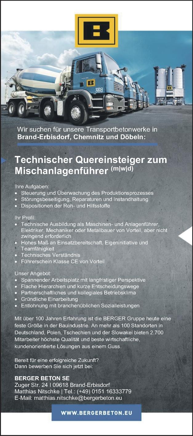 Mischanlagenführer/-in