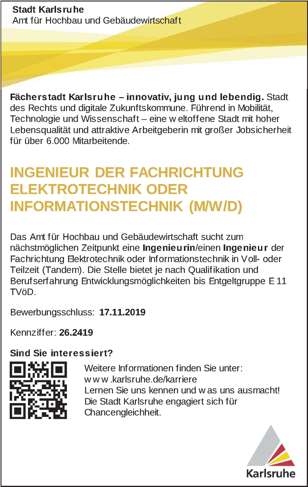Informationstechniker In Karlsruhe