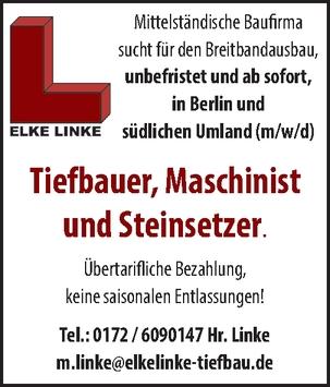 Tiefbauer m/w/d