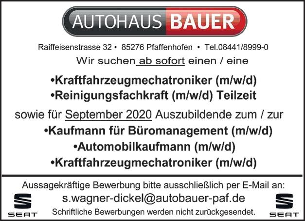 Kraftfahrzeugmechatroniker (m/w/d)