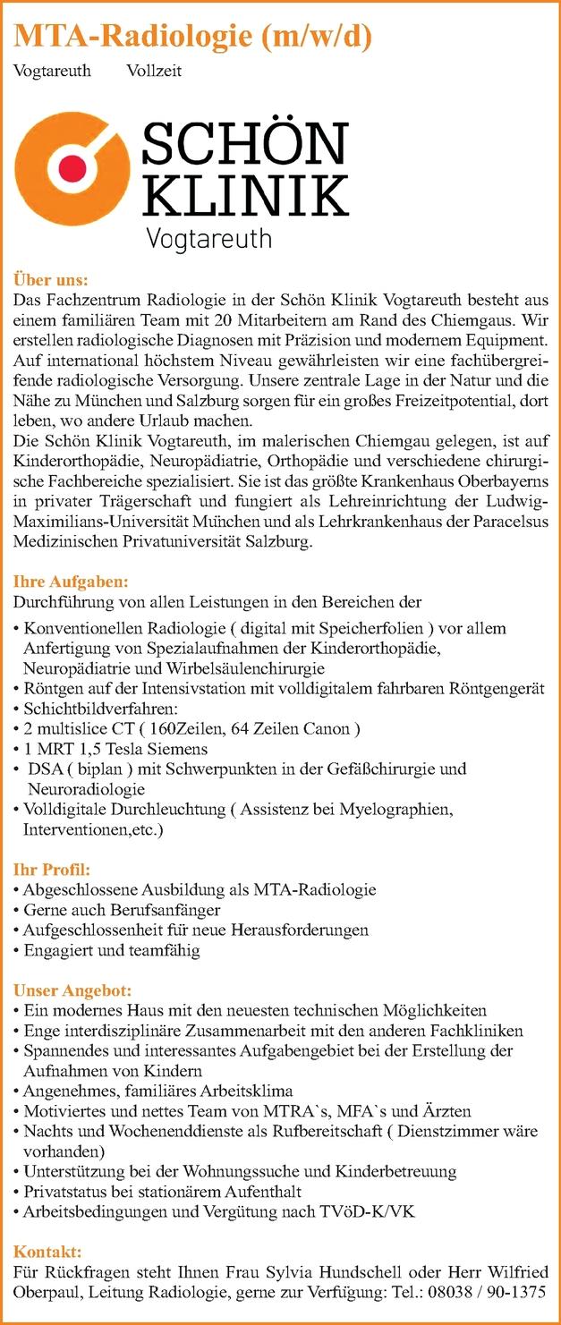 MTA-Radiologie (m/w/d)