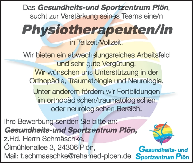 Physiotherapeut