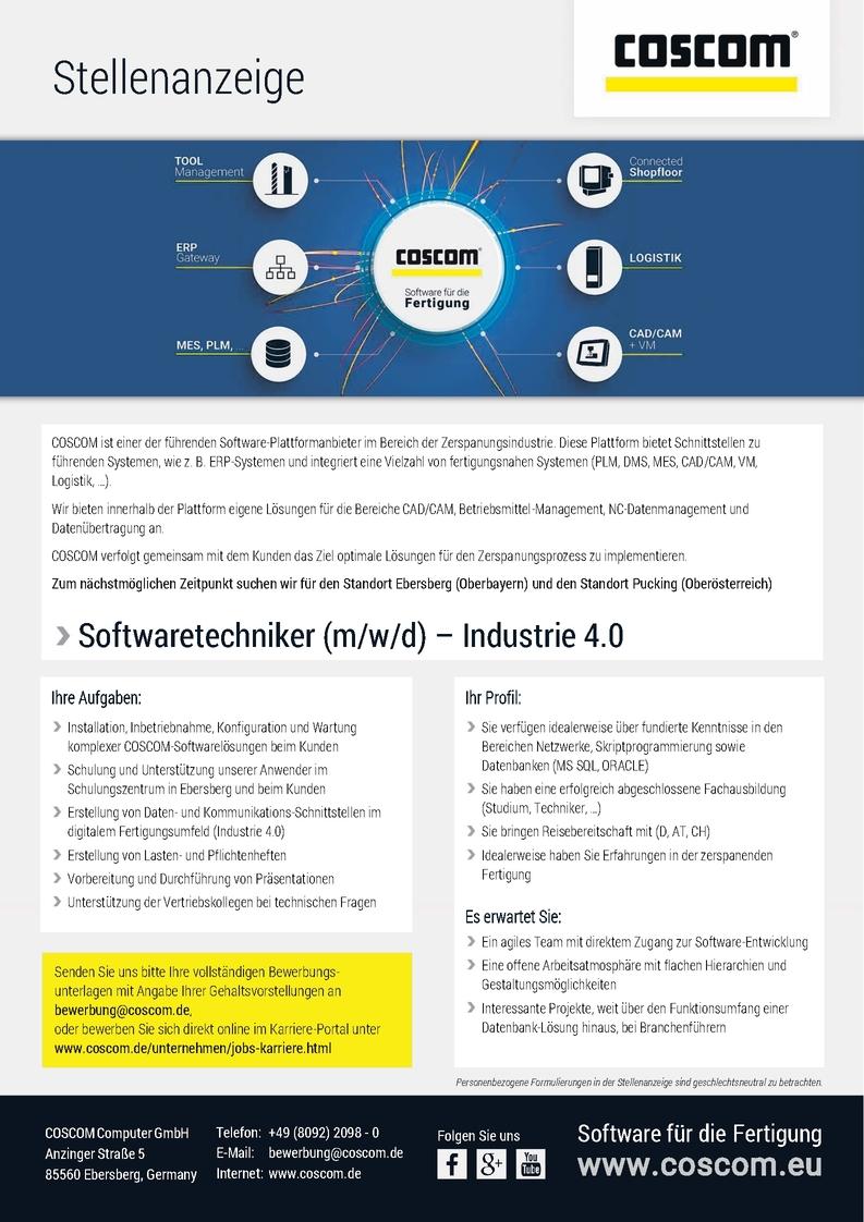 Softwaretechniker/in