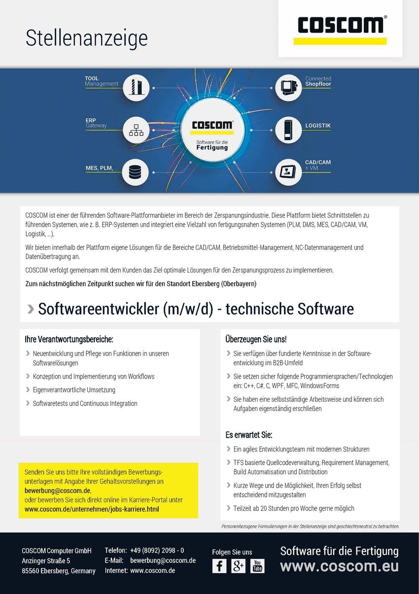 Mathematiker/in als Softwareentwickler/in