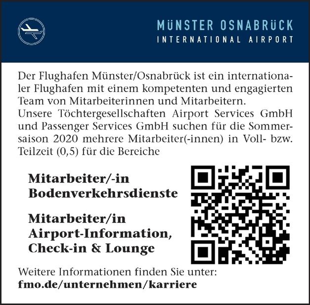 Mitarbeiter/-in Airport-Information