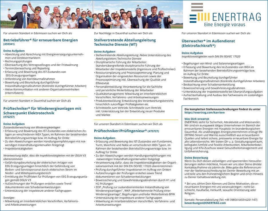 Betriebsführer/in für erneuerbare Energien