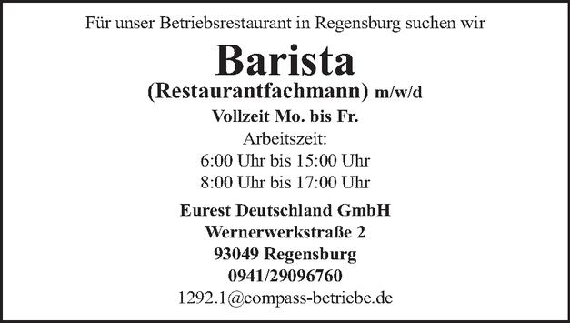 Restaurantfachmann (m/w/d)