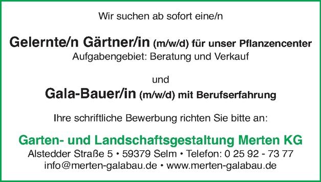 Gärtner (m/w/d)