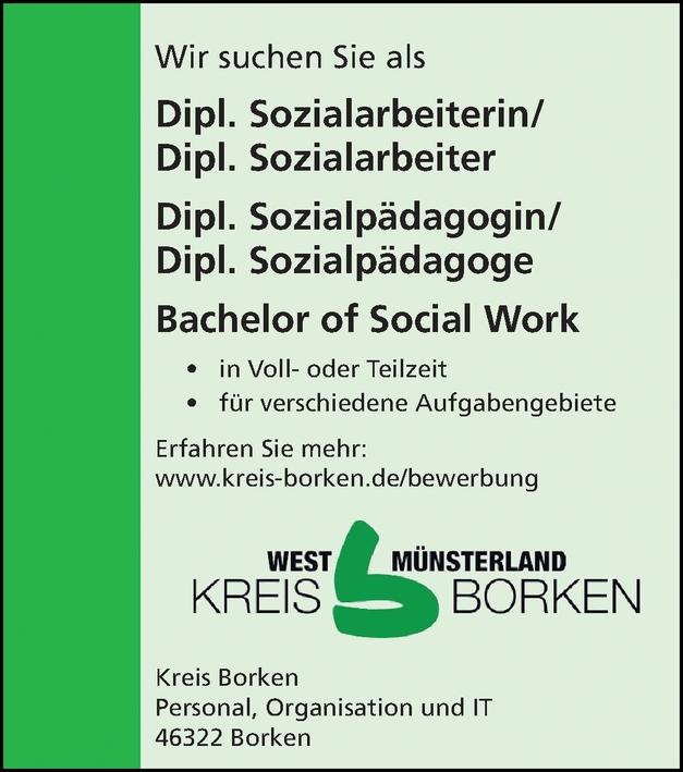 Dipl. Sozialarbeiterin/ Dipl. Sozialarbeiter