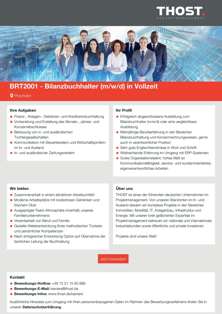 Bilanzbuchhalter m/w/d