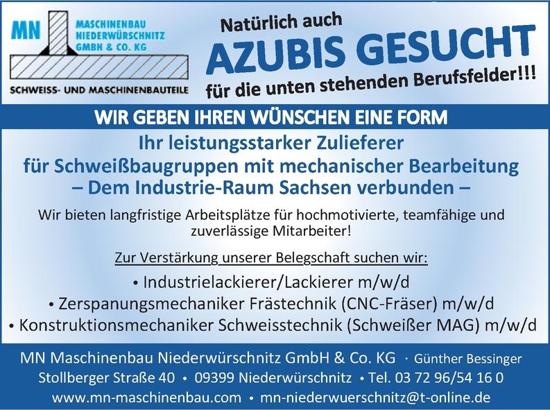 Azubi - Konstruktionsmechaniker Schweisstechnik (Schweißer MAG) m/w/
