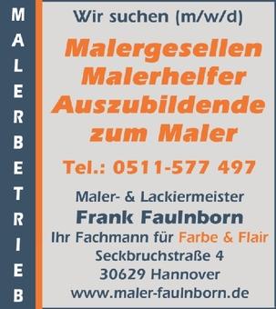 Maler (m/w/d)