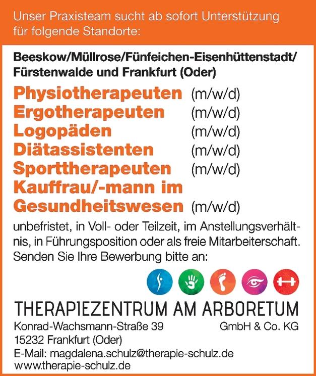 Kauffrau/-mann im Gesundheitswesen