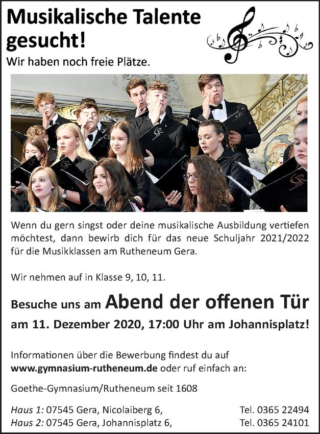 Musikschüler m/w/d