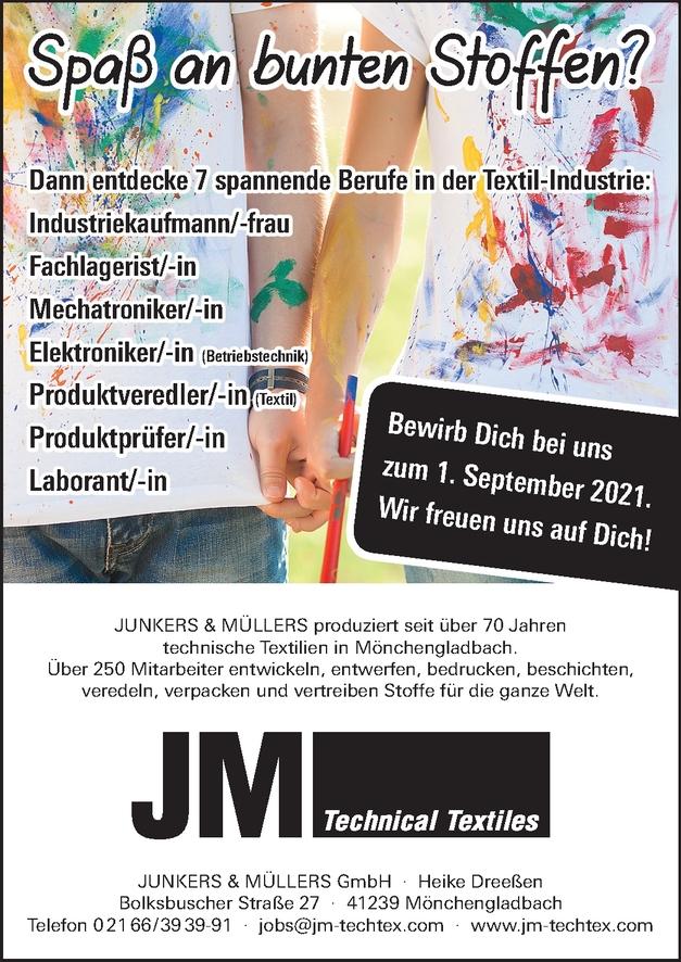 Ausbildung Industriekauffrau/ -Mann