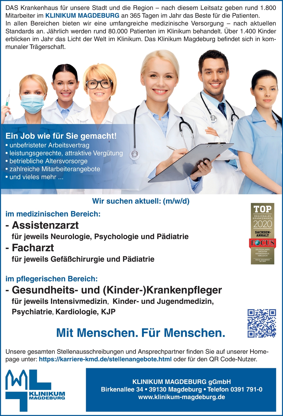 Assistenzärztin / Arzt