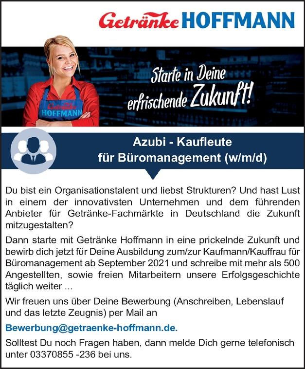 Azubi - Kaufleute für Büromanagement (m/w/d)