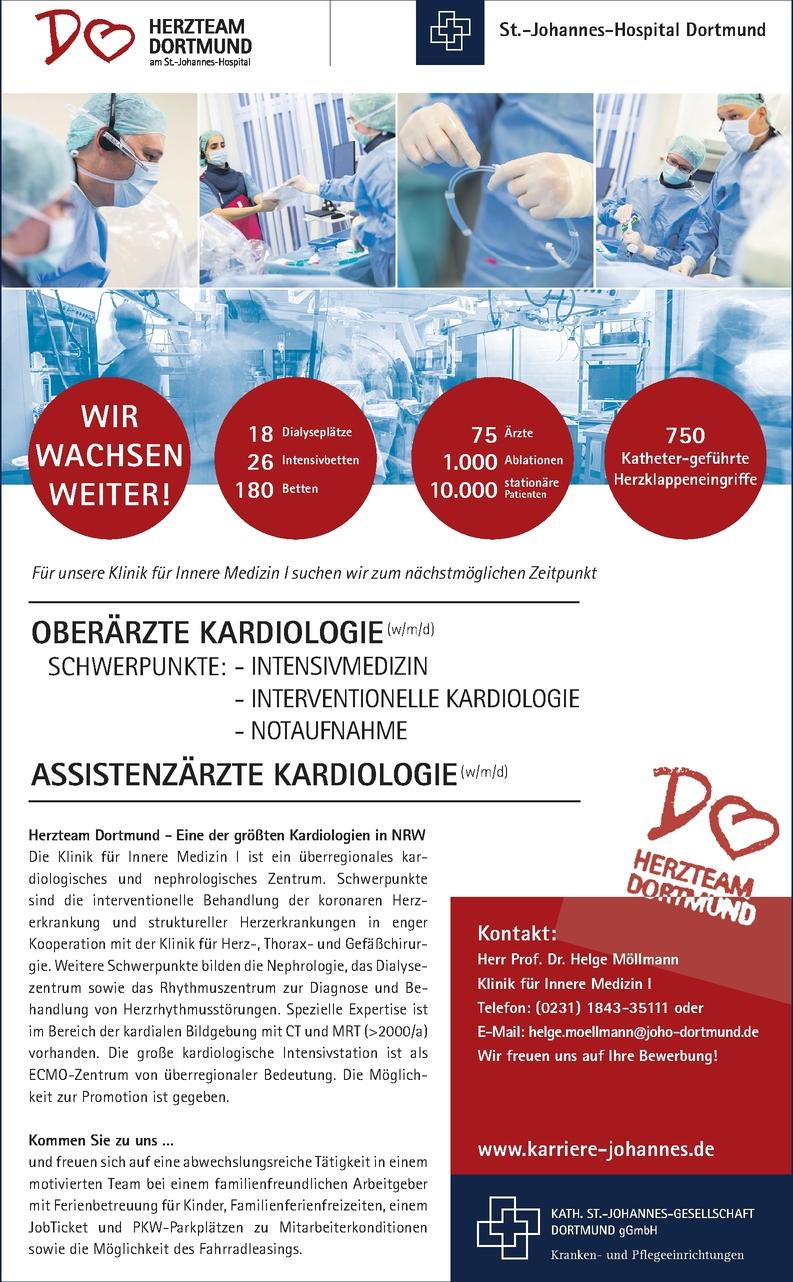 Oberarzt Kardiologie (m/w/d)