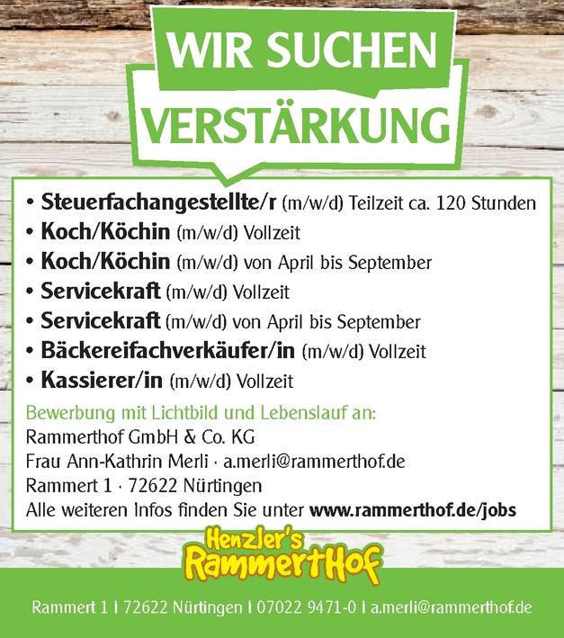 Koch/Köchin (m/w/d)