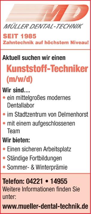 Kunstofftechniker (m/w/d)