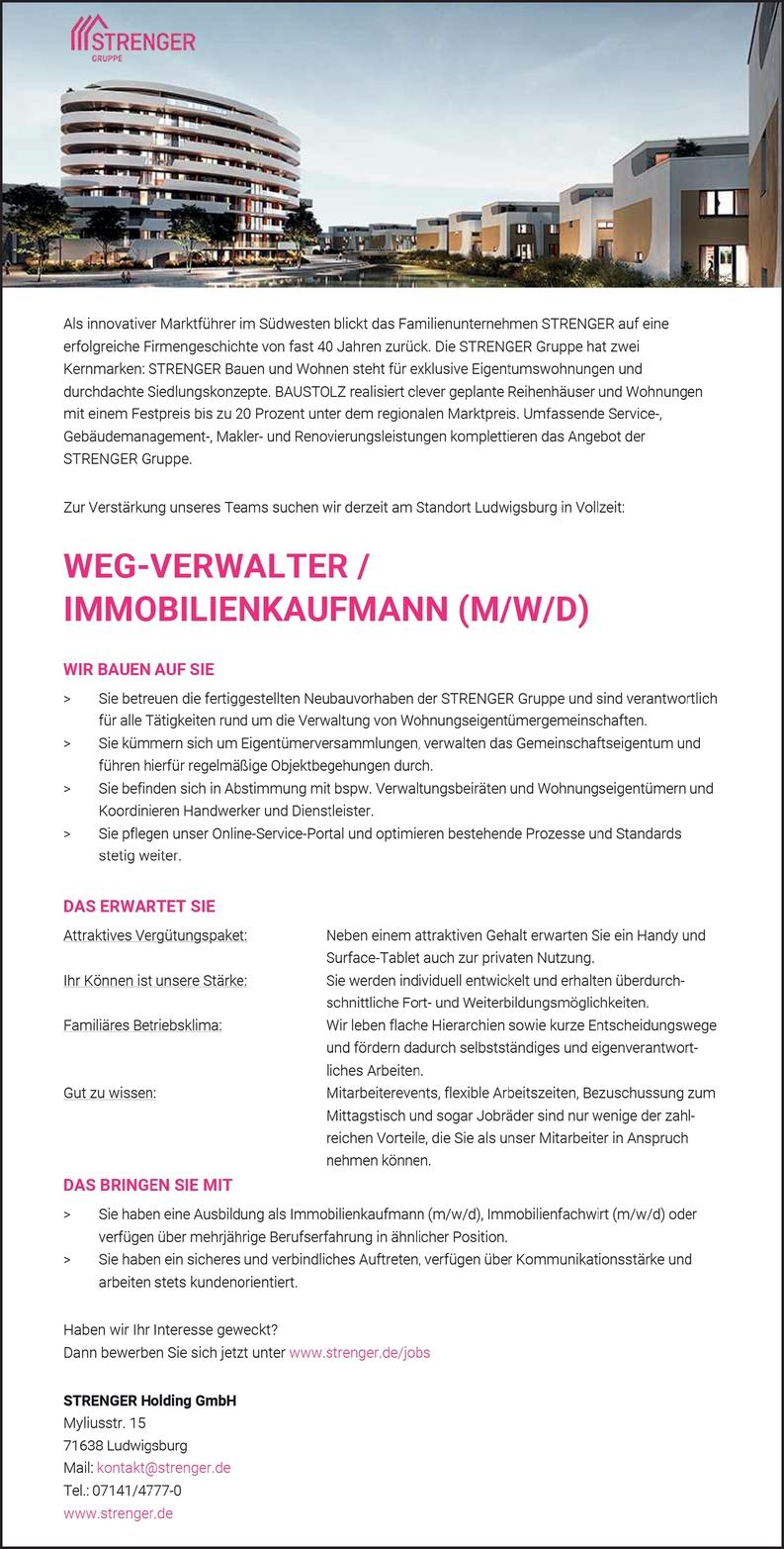 WEG-Verwalter m/w/d