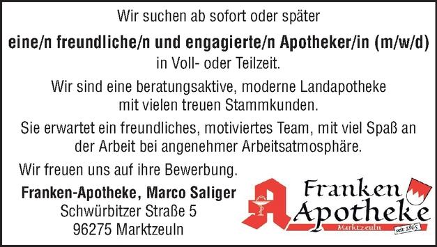 Apotheker/in (m/w/d)