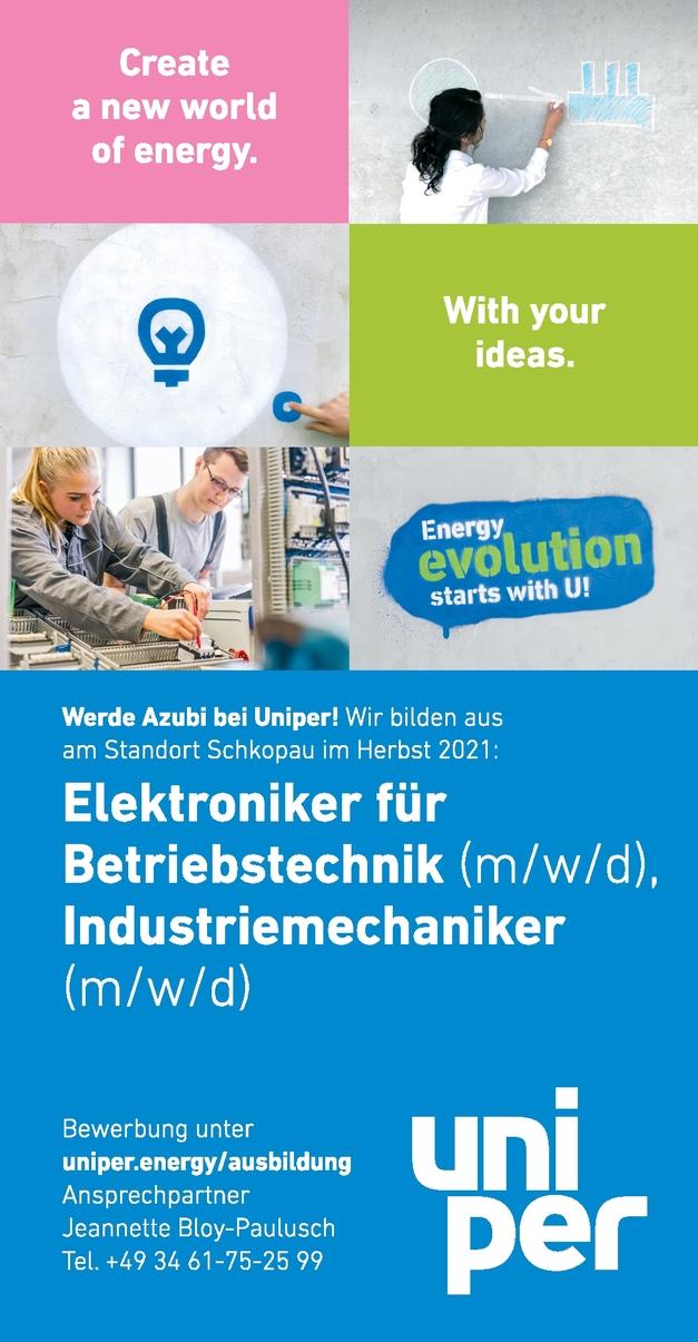 AZUBIS Elektroniker für Betriebstechnik (m/w/d)